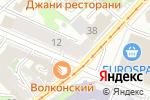 Схема проезда до компании Деноде в Нижнем Новгороде