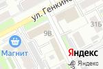 Схема проезда до компании Motor-Oil в Нижнем Новгороде