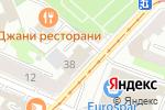 Схема проезда до компании Ириская в Нижнем Новгороде