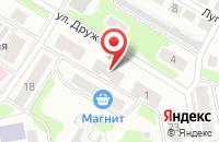 Схема проезда до компании ОконМного НН в Золотово