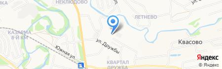 Основная школа №12 на карте Бора