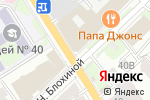 Схема проезда до компании Siruk Design в Нижнем Новгороде
