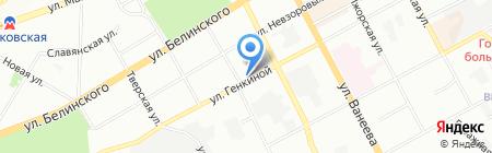 Автокард на карте Нижнего Новгорода