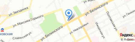 RS express на карте Нижнего Новгорода
