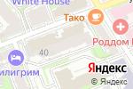 Схема проезда до компании Нижегородский остеопатический центр в Нижнем Новгороде