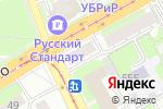 Схема проезда до компании Шар в Нижнем Новгороде