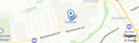 Стройдор на карте Нижнего Новгорода