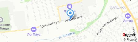 ТРАНСЕРВИС-Н.Новгород на карте Нижнего Новгорода