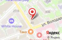 Схема проезда до компании Центр Акмеологических Исследований в Нижнем Новгороде