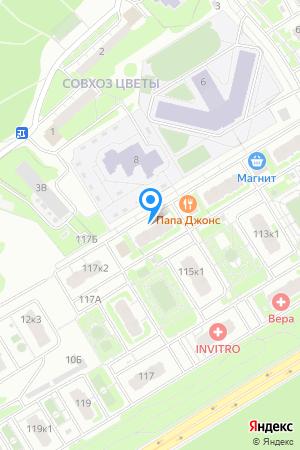 ЖК Цветы, Сахарова ул., 115, корп. 2 на Яндекс.Картах