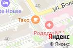 Схема проезда до компании Тако в Нижнем Новгороде