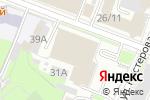 Схема проезда до компании Промсвязьбанк в Нижнем Новгороде