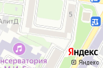 Схема проезда до компании Адвокатская контора №10 в Нижнем Новгороде