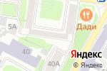 Схема проезда до компании Попов промо в Нижнем Новгороде