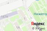 Схема проезда до компании S7 в Нижнем Новгороде