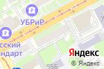 Схема проезда до компании Отражение в Нижнем Новгороде