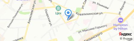 Транснефть на карте Нижнего Новгорода