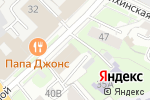 Схема проезда до компании Пресс-Хаус в Нижнем Новгороде