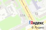 Схема проезда до компании Всероссийское общество слепых в Нижнем Новгороде