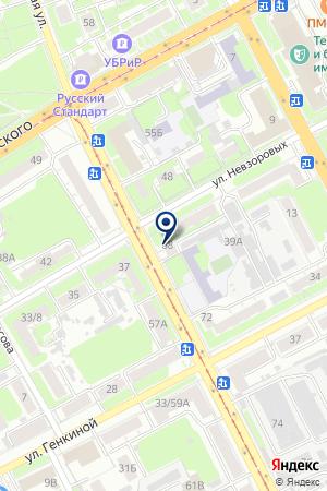 АТЕЛЬЕ МЕТЕЛИЦА на карте Нижнего Новгорода