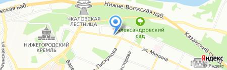 Праздничный мир на карте Нижнего Новгорода