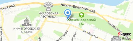 Росгосстрах-Жизнь на карте Нижнего Новгорода