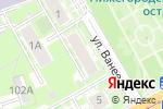 Схема проезда до компании Impress в Нижнем Новгороде