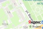 Схема проезда до компании Ceragem в Нижнем Новгороде