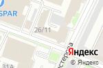 Схема проезда до компании БКС Премьер в Нижнем Новгороде