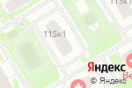 Схема проезда до компании Clean & happy в Нижнем Новгороде