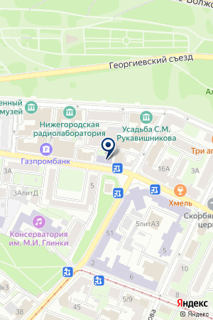 ТФ ТЕРМИНАЛЬНЫЕ СИСТЕМЫ на карте Нижнего Новгорода
