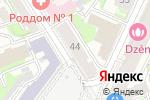 Схема проезда до компании ЦирюльникЪ в Нижнем Новгороде