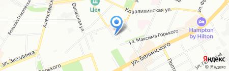 Лукошко на карте Нижнего Новгорода