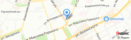 Кварта на карте Нижнего Новгорода