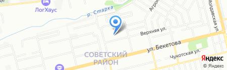 Средняя общеобразовательная школа №122 на карте Нижнего Новгорода