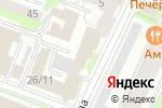 Схема проезда до компании Центр дизайна и продвижения в Нижнем Новгороде