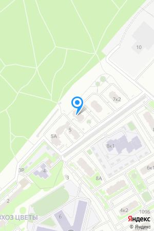 Дом 7 по ул. Цветочная, ЖК Цветочный на Яндекс.Картах
