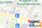 Схема проезда до компании Printhall в Нижнем Новгороде