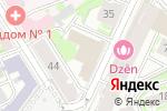 Схема проезда до компании Телевизионная Биржа Труда в Нижнем Новгороде