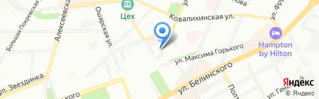 Радио Рандеву на карте Нижнего Новгорода