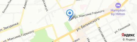 Мед-Эстет на карте Нижнего Новгорода