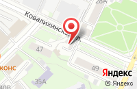 Схема проезда до компании Центр Обучения и Переподготовки в Нижнем Новгороде