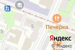 Схема проезда до компании ВОЛГА НЕДВИЖИМОСТЬ в Нижнем Новгороде