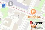 Схема проезда до компании МТ Инвест в Нижнем Новгороде