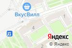 Схема проезда до компании Хуторок в Нижнем Новгороде