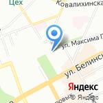 Respect на карте Нижнего Новгорода