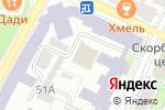 Схема проезда до компании U-travel в Нижнем Новгороде
