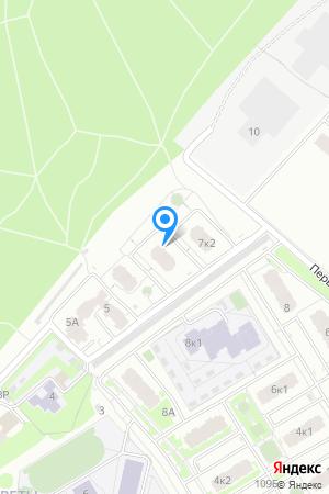 Дом 7 корп. 1 по ул. Цветочная, ЖК Цветочный на Яндекс.Картах