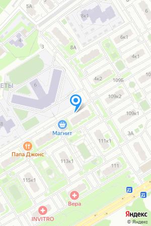 ЖК Цветы, Сахарова ул., 111, корп.2 на Яндекс.Картах