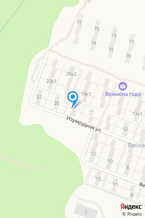 ул. Изумрудная, 18, ЖК Времена Года на Яндекс.Картах